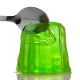 Green gelatin