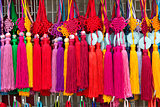 colourful souvenirs in china