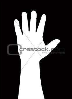 one man hand