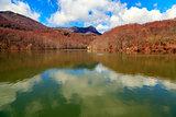 Lake Santa Fe, Montseny. Spain