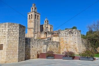 Monastery Sant Cugat del Valles.Catalonia