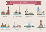 City symbol. Russia