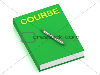 COURSE name on cover book