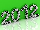 2012 of the soccer balls