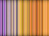 3d abstract orange purple backdrop in vertical stripes