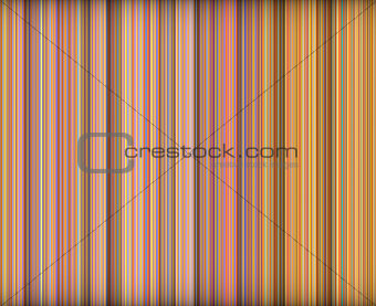 3d abstract orange pink purple backdrop in vertical stripes