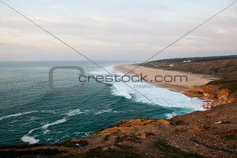 Nazare surf beach