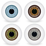 Eye ball set.