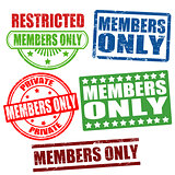 Members only stamps