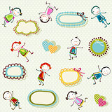 happy children background