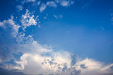 Cloud light sky