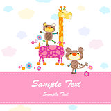 baby invitation card