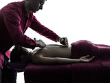 back massage therapy