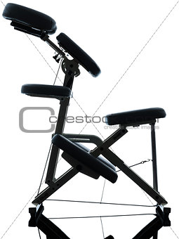 massage therapy with chair