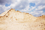 Sand pile