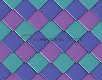 abstract diagonal square diamond shape tile backdrop