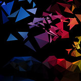 Triangles explosion vector