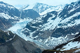  View to Kaunertal Gletscher (Austria)