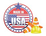 made in usa. protection warranty