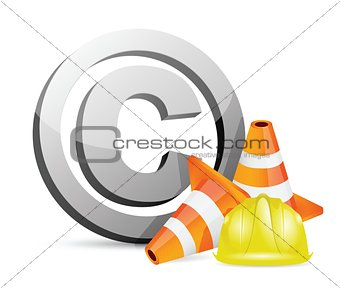 copyright protection barrier concept