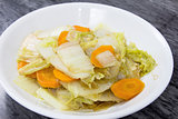 Stir Fry Chinese Cabbage Dish