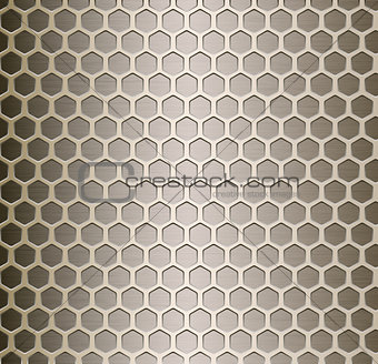 Cell metal background.