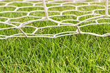 Back side the Goal football
