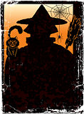 halloween poster with Jack. vector illustration