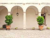 Patio in Gardens of Villa d'Este