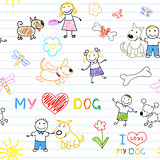 Children&#39;s and dogs