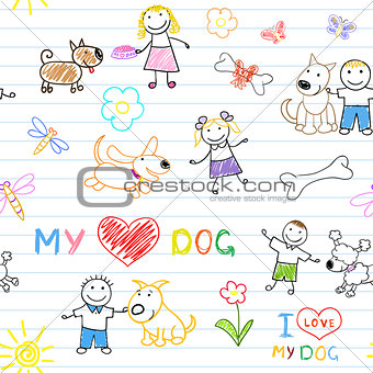 Children's and dogs