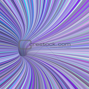 3d render tunnel pipe in blue purple pink