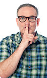 Be quiet... shhh