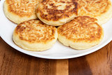 delicious traditional cheese pancakes