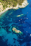 Isola d&#39;Elba-Pomonte &amp; shipwreck