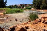 river Tinto in Niebla (Huelva)