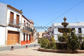 old Spanish town Niebla (Huelva)