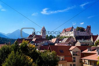 castle in Fussen, Germany
