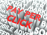 Pay Per Click (PPC) Concept.