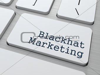 Blackhat Marketing  Concept.