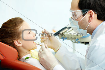 Teeth examination
