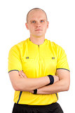 Portrait of a referee.