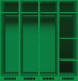 Opening of lockers