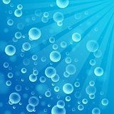Abstract background with bubbles 2