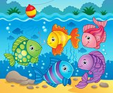 Fish theme image 6