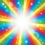 Image with rainbow theme 3