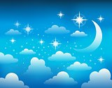 Night sky theme image 1