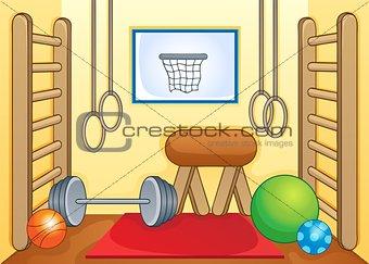 Sport and gym theme image 1