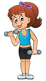 Sport and gym theme image 3