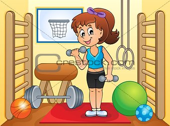 Sport and gym theme image 4